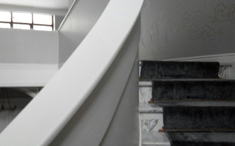 как выглядит лестница из акрила ДНД Групп